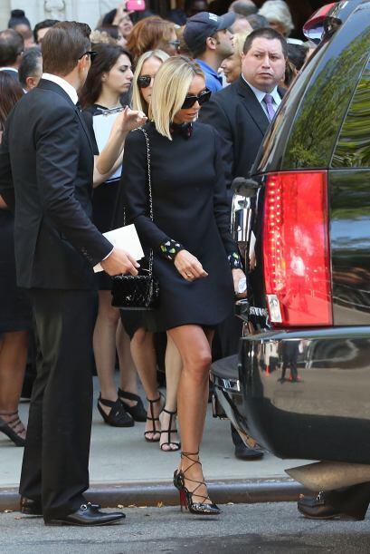 Su gran amiga y compañera de Fashion Police Giuliana Rancic.