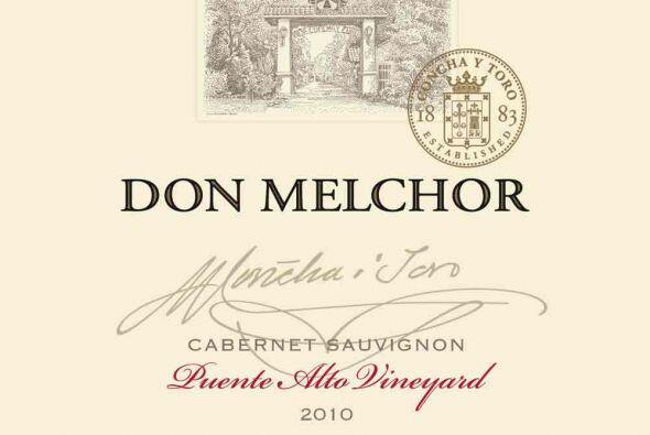 Don Melchor, de la casa Concha y Toro, es el vino de Latinoamérica que l...