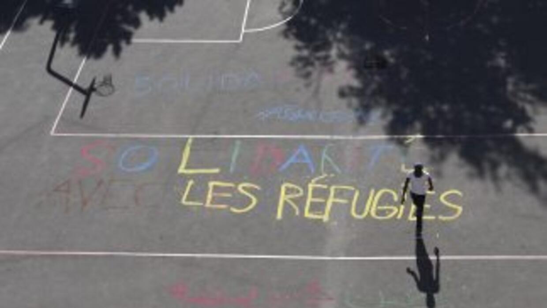 Mensajes de solidaridad en Francia