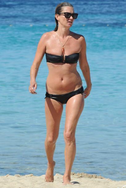 Kate Moss es otra madurita del 'showbiz' que sigue teniendo todo en su l...