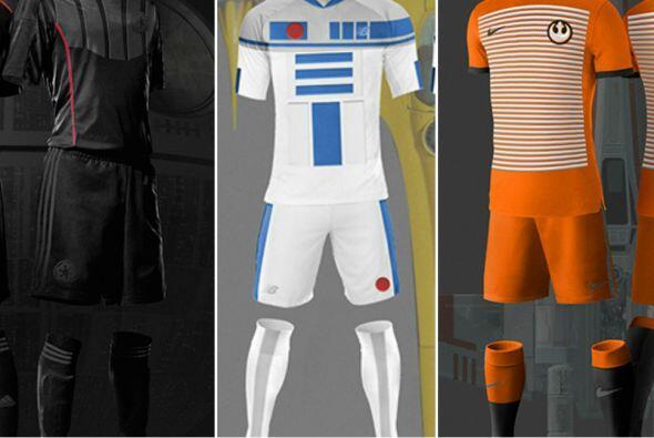 La diseñadora española Narea Palacios elaboró unos increíbles uniformes...