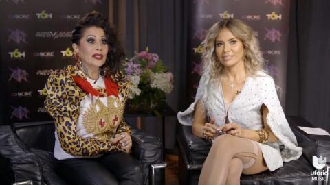 Gloria Trevi y Alejandra Guzmán.