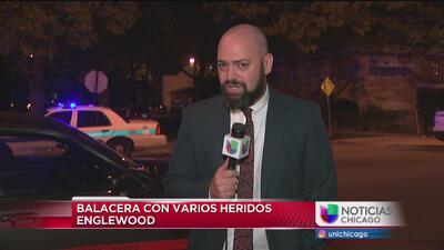 Balacera deja varios heridos en West Englewood