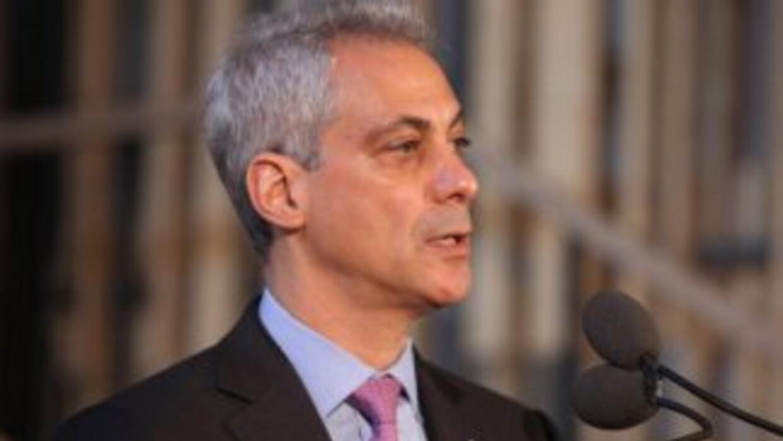 Rahm Emanuel, alcalde de Chicago.