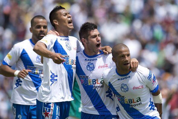 Hasta el Puebla, que ocupa la última posición con 11 unidades, aún tiene...