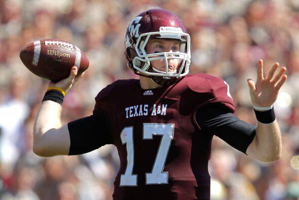 Ryan Tannehill, Quarterback, Texas A&M.