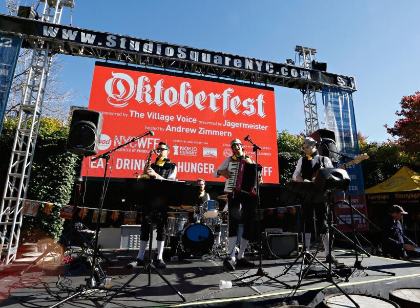 La Fiesta de la Cerveza animó a la la ciudad de Nueva York con sus decen...