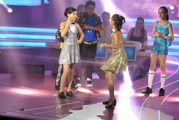 Las dos pequeñas son muy talentosas en el baile, los jueces tendrían que...