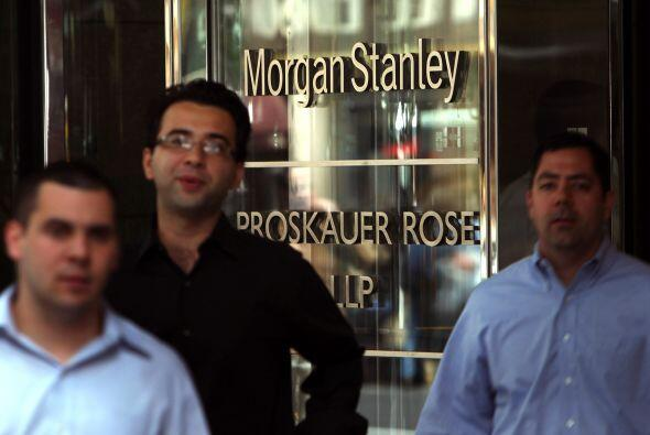 """MORGAN STANLEY """" El banco indicó el 28 de diciembre que sumaría unos 580..."""