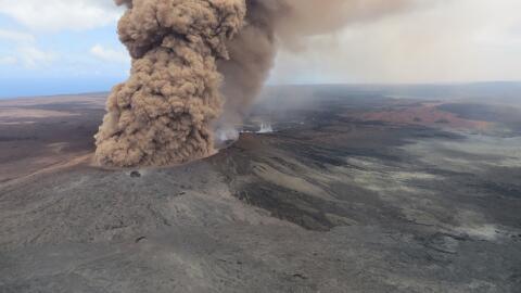 El Servicio Geológico de EEUU registró la caída de...