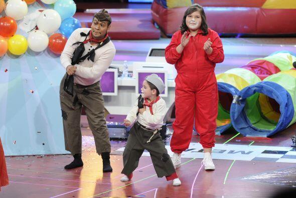 Y al final festejaron su mágnifico tiempo bailando un poco.
