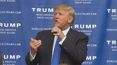 Donald Trump habla sobre su demanda a Univision