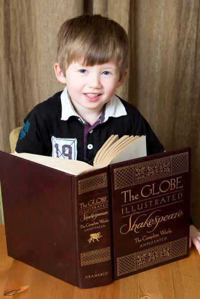 ¿Será este pequeño el más inteligente niño de tres años?