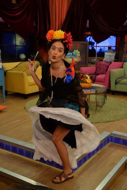 Los gestos y poses de nuestra querida Karla pusieron de buen humor a tod...
