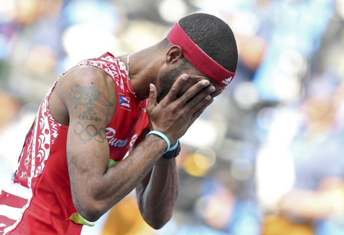 Javier Culson solo quiere irse a casa tras ser descalificado en Río 2016...