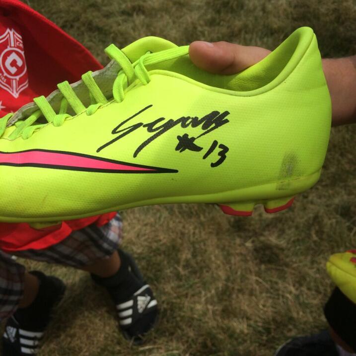 ¡Gonzalo Segares, ex jugador del Chicago Fire estuvo presente en Copa Un...