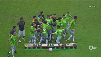 ¡Renato Ibarra falla y América queda fuera de la Copa MX en penales!