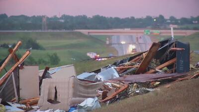 Devastación por tornados en Oklahoma