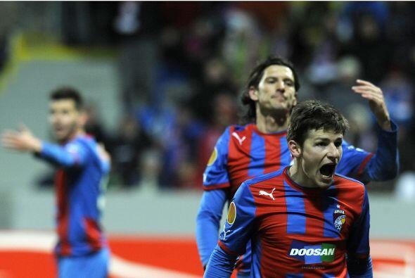Vladimar Darida consiguió el 1-0 sólo al minuto 22.
