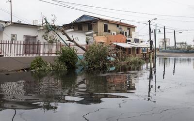 La mayor parte de la isla se encuentra sin electricidad y con problemas...