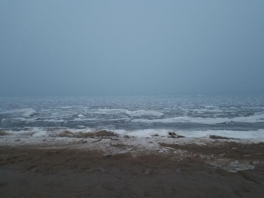 La playa Municipal de Waukegan