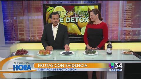 Alimentos que ayudan a eliminar las toxinas