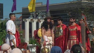 La dramatización de la pasión y muerte de Jesús en San Antonio cumple 33 años