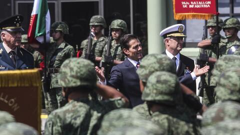 El presidente Enrique Peña Nieto movilizó en 2016 a m&aacu...