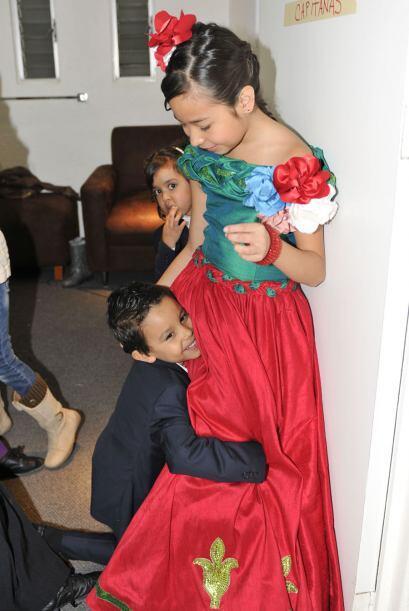 Aunque Javiercito también le declaró su amor a Magaby.