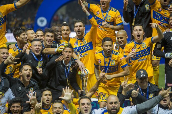 En fotos: Las mejores imágenes de la celebración de Tigres 20171210-2446...