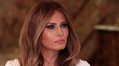 Melania Trump: Él no es racista o anti inmigrantes.