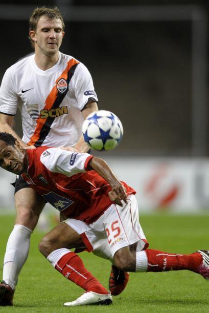 Además, el Braga fue local ante el Shakhtar Donetsk.