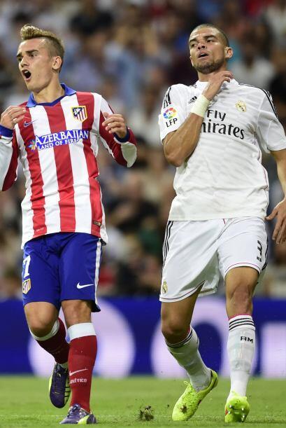 Al minuto 62 se produjo la primer modificación del Madrid dándole ingres...