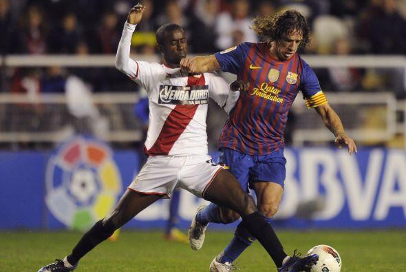 Pero apenas comenzó el juego, el barcelona que jugaba con varios suplent...