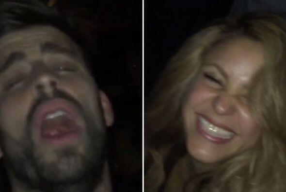 Wow! Shakira y Piqué tuvieron tremenda fiesta. La parejita celebró el tr...