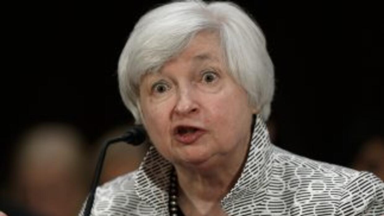 Janet Yellen, presidenta de la Reserva Federal (Fed).