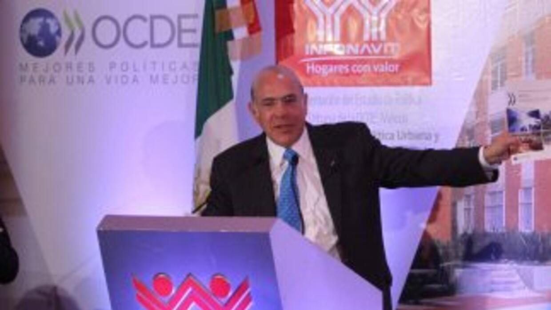 José Ángel Gurría, secretario general de la OCDE.