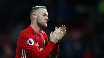Wayne Rooney (Manchester United) - El goleador de los 'diablos rojos...