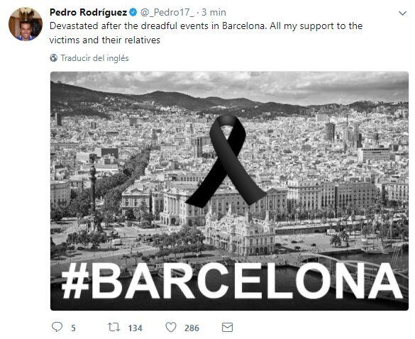 El mundo del deporte se solidariza con las víctimas de Barcelona BCN37.JPG