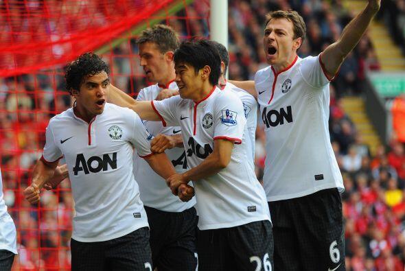 """Y finalmente marcó un gol valioso en el triunfo ante los """"Reds""""."""