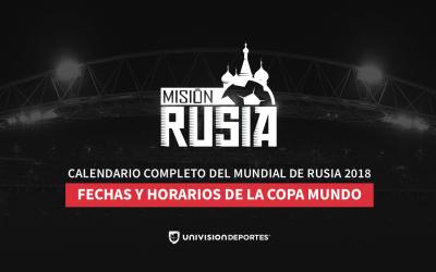 Promo Calendario Rusia 2018