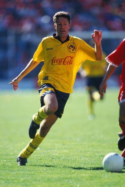 En la serie entre Toluca y América, el partido de ida, disputado en el e...