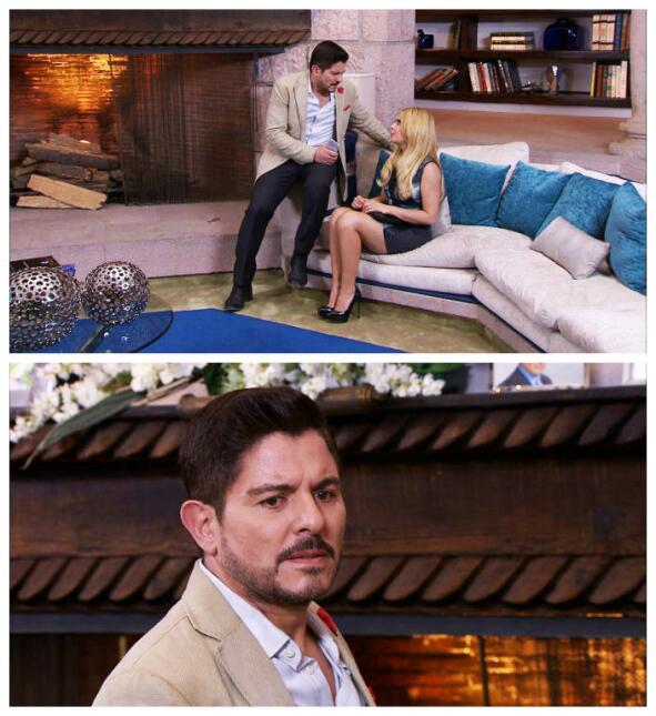 ¡Sorpresa! ¡Santiago es el papá de Rocío!