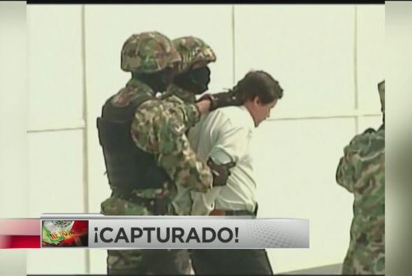¡Capturado El Chapo Guzmán!: Agentes federales de México confirmaron el...