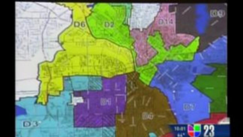 Dallas: Mapa electoral podría tener cuatro distritos hispanos