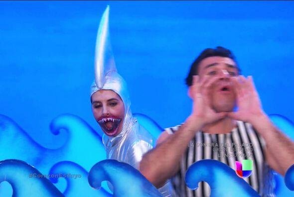 Pero cuidado, ¡Isabela apareció como la mujer tiburón para arruinar tu s...