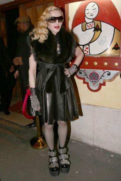 Creemos que el golpe que se dio Madonna en los British Awards, le afectó...