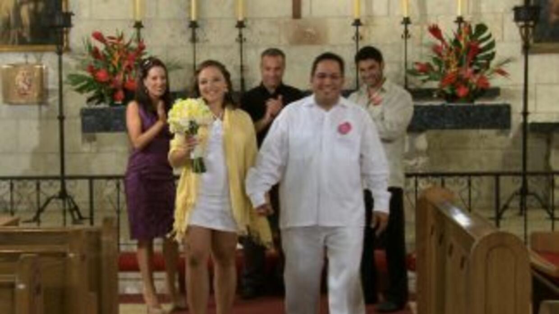 Susana y Ernesto Pombo renovaron sus votos matrimoniales