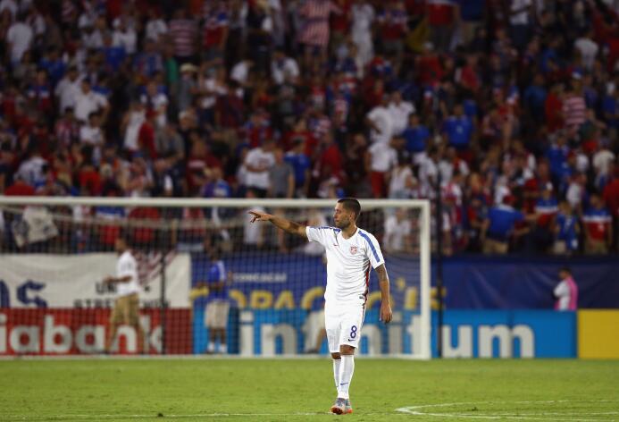 Como Clint Dempsey, grandes goleadores en los arraques de las Copas Oro...