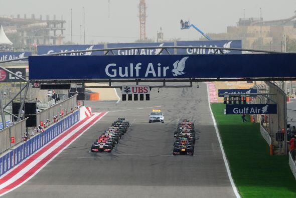 El GP de Bahrein se llevó a cabo a pesar de los conflictos sociales que...